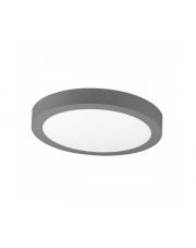 Plafon DISC SURFACE K50221.GY.3K 3000K 12W 768lm Kohl Lighting nowoczesna lampa sufitowa
