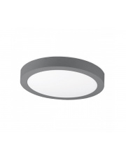 Plafon DISC SURFACE K50223.GY.3K 3000K 24W 1800lm Kohl Lighting nowoczesna lampa sufitowa