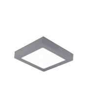 Plafon DISC SQUARE SURFACE K50233.GY.4K 4000K 24W 1872lm Kohl Lighting nowoczesna lampa sufitowa