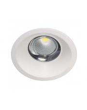 Oczko stropowe DARA K50302.W.3K 3000K 30W 2764lm Kohl Lighting nowoczesna biała oprawa
