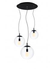 Lampa wisząca Alur 3 10735302 KASPA potrójna oprawa w dekoracyjnym stylu