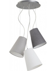 WYSYŁKA 24H! Lampa wisząca RETTO C 6820 Nowodvorski Lighting potrójna nowoczesna oprawa w dekoracyjnym stylu