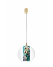 Lampa wisząca Feria S 10911113 KASPA nowoczesna oprawa z florystycznym zrobieniem
