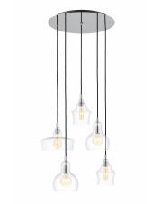 Lampa wisząca Longis 5 10526509 KASPA elegancka oprawa w nowoczesnym stylu