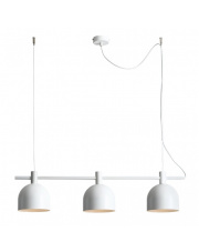 Lampa wisząca BERYL 976E Aldex nowoczesna oprawa w kolorze białym