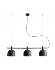 Lampa wisząca BERYL 976E1 Aldex nowoczesna oprawa w kolorze czarnym