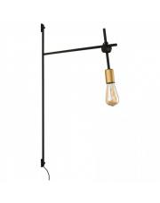 WYSYŁKA 24H! Kinkiet AXIS 9294 Nowodvorski Lighting czarno-złota oprawa ścienna w dekoracyjnym stylu