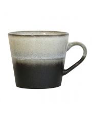 Kubek ceramiczny do cappuccino Rock ACE6052 HK Living retro kubek w stylu lat 70.