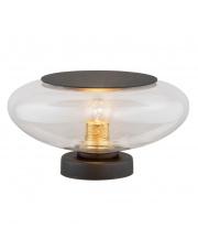 Lampa stołowa Aurora 4114 Argon szklana oprawa w kolorze transparentnym