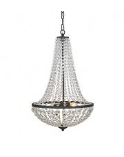 WYSYŁKA 24H! Lampa wisząca GRANSO M 107027 Markslojd podwójny dekoracyjny żyrandol kryształowy