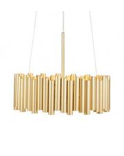 Lampa wisząca Level Gold 108047 Markslojd złoty oprawa wisząca w stylu design