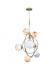 Lampa wisząca COSMOS P0378 Maxlight nowoczesna oprawa w kolorze złotym
