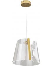 Lampa wisząca SEDA P0384  Maxlight nowoczesna oprawa w kolorze złotym