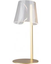 Lampa stołowa SEDA T0040 Maxlight nowoczesna oprawa w kolorze złotym