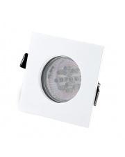 Oczko stropowe SQUARE H0092 Maxlight kwadratowa oprawa wpuszczana w kolorze białym