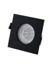 Oczko stropowe SQUARE H0093 Maxlight kwadratowa oprawa wpuszczana w kolorze czarnym