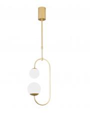 Lampa wisząca TORO P0385 Maxlight nowoczesna oprawa w kolorze złotym