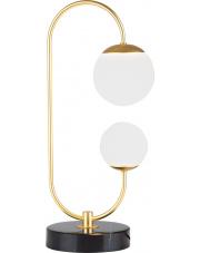 Lampa stołowa TORO T0041 Maxlight nowoczesna oprawa w kolorze złotym
