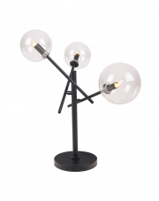 Lampa stołowa LOLLIPOP T0043 MAXlight nowoczesna oprawa w kolorze czarnym