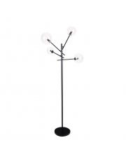 Lampa podłogowa LOLLIPOP F0051 MAXlight nowoczesna oprawa w kolorze czarnym