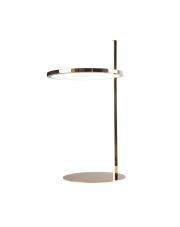 Lampa stołowa LOZANNA T0042 MAXlight nowoczesna oprawa w kolorze złotym