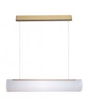 Lampa wisząca COLLAR P0411 MAXlight nowoczesna oprawa w kolorze złotym