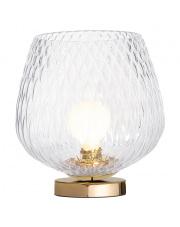 Lampa stołowa Venus 41031109 KASPA nowoczesna oprawa ze szklanym dekoracyjnym kloszem