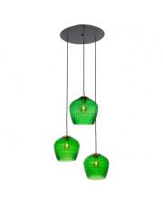 Lampa wisząca Venus 3 11014313 KASPA nowoczesna oprawa ze szklanymi dekoracyjnymi kloszami