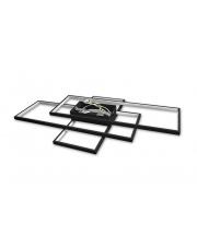 Plafon Rettangolo L 120W 2676 nowoczesna oprawa w kolorze czarnym