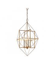 Lampa wisząca Rete RE25421-A Artemodo geometryczna oprawa w kolorze antycznego złota