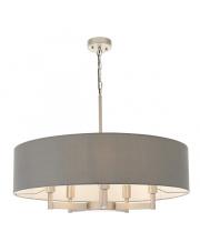 Lampa wisząca Griseo GR20321-A Artemodo klasyczna oprawa z szarym abażurem