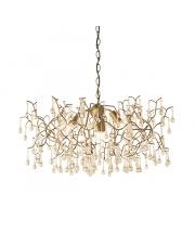 Lampa wisząca Astutus AS11621-C Artemodo dekoracyjna oprawa w kolorze antycznego złota