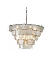Lampa wisząca Piscis PI08821-A Artemodo szklana oprawa w kolorze antycznego srebra