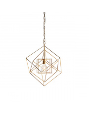 Lampa wisząca Rete RE25421-C Artemodo geometryczna oprawa w kolorze płatkowanego złota