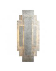 Kinkiet Puramis PU23821-B Artemodo dekoracyjny kinkiet w kolorze płatkowanego srebra