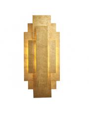 Kinkiet Puramis PU23821-A Artemodo dekoracyjny kinkiet w kolorze płatkowanego złota
