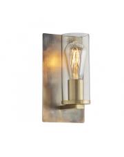 Kinkiet Steal&Glass ST03221-E Artemodo metalowa oprawa ze szklanym kloszem