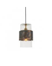 Lampa wisząca Steal&Glass ST03221-B Artemodo metalowa oprawa z transparentnym kloszem