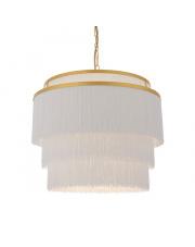 Lampa wisząca Soft Filo SO18221-A dekoracyjna oprawa w kolorze białym