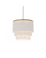 Lampa wisząca Soft Filo SO18221-B subtelna oprawa w kolorze białym
