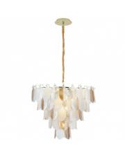 Lampa wisząca Arwena w kolorze złotym P0418 MaxLight