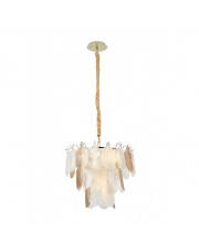 Lampa wisząca Arwena w kolorze złotym P0417 MaxLight
