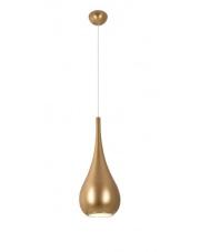Lampa wisząca Drop w kolorze złoty mat P0436 MaxLight