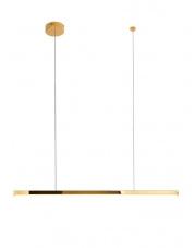 Lampa wisząca Trio 1 w kolorze złotym P0425D MaxLight