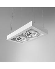 Lampa wisząca CADRA 111x2 230V oprawa zwieszana 54712-0000-U8-PH Aqform