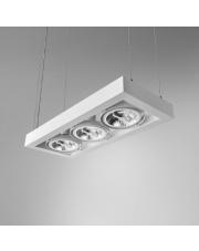 Lampa wisząca CADRA 111x3 230V oprawa zwieszana 54813-0000-U8-PH Aqform