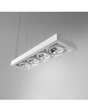 Lampa wisząca CADRA 111x4 230V oprawa zwieszana 54914-0000-U8-PH Aqform