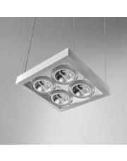 Lampa wisząca CADRA 111x4 SQ 230V oprawa zwieszana 55014-0000-U8-PH Aqform