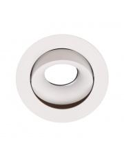 Oczko podtynkowe Bellatrix oprawa w kolorze białym Tilted H0117 - bez modułu świetlnego LED H0112 Maxlight