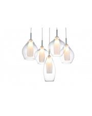 Lampa wisząca Amber Milano AZ3076 AZzardo nowoczesna oprawa wisząca w stylu design